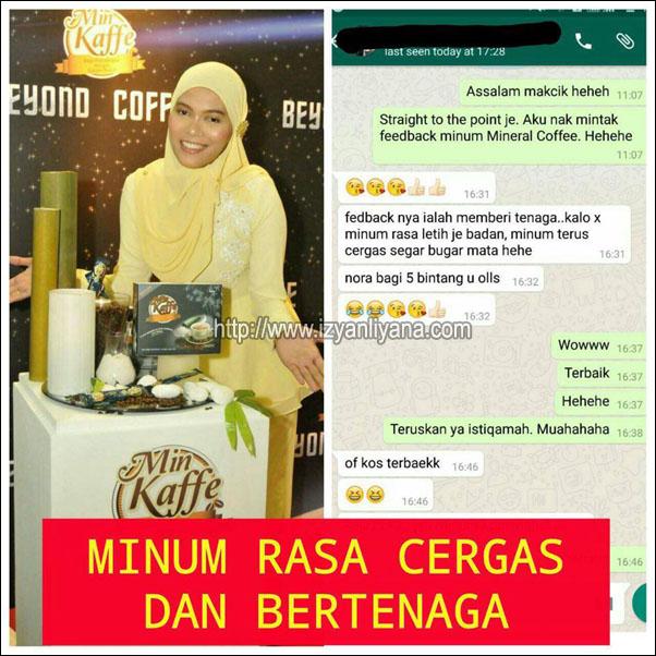 Marni.com.my/min-kaffe/min kaffe kopi kurus/harga promosi premium beautiful corset murah 2017Testimoni Min Kaffe14/Testimonial Min Kaffe - Rasa Cergas Dan Bertenaga